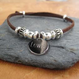 Personalised Mens India Bracelet