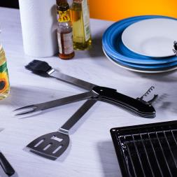 5 In 1 BBQ Tool Kit