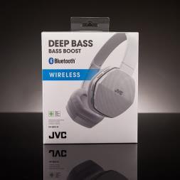 JVC Wireless Lightweight Bluetooth Headphones - White