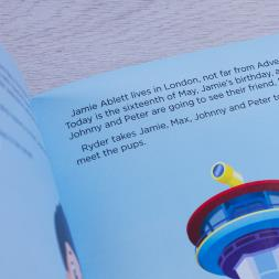 Personalised Paw Patrol Adventure Book