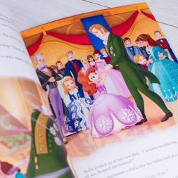 Personalised Sofia the First Adventure Book
