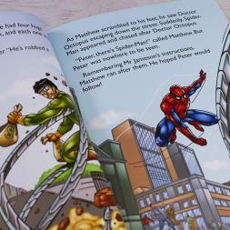 Personalised Spider-Man Adventure Book