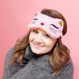 Relaxing Eye Mask - Cat