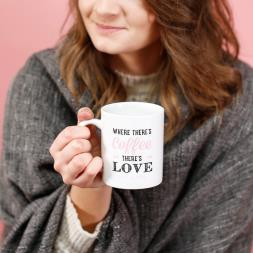 Where There's Coffee There's Love Mug and Cosy Socks