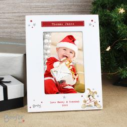 Personalised My 1st Christmas Photo Frame - Boofle
