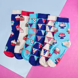 Slice Of Cake Ladies Socks