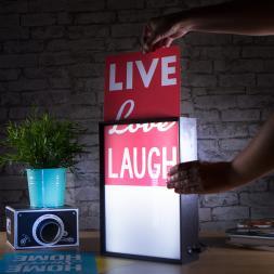 Interchangeable Light Box