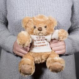 Personalised Teddy Bear with Jumper