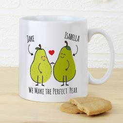 Personalised Perfect Pear Mug