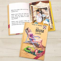 Personalised Ladybird Book Of The Mum