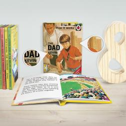 Personalised Ladybird Book Of The Dad