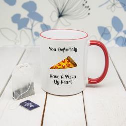 Pizza My Heart Mug