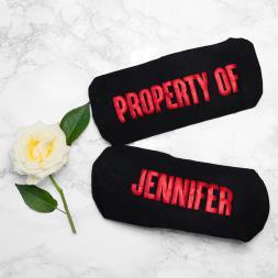 Personalised Sole Mates Romantic Socks