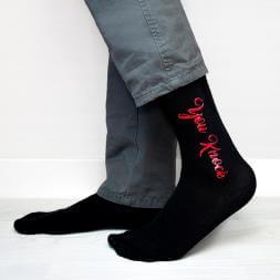 Personalised Cheeky Valentine's Socks