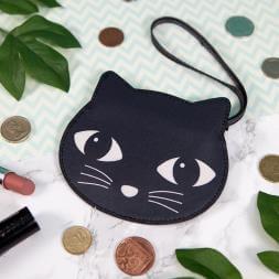 Black Cat Coin Purse