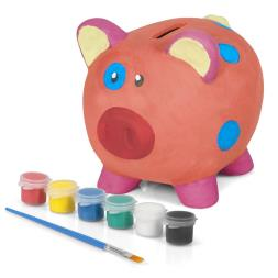 Paint Your Own Piggy Bank