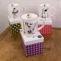 Happy Housewives - Audrey Mug And Gift Box