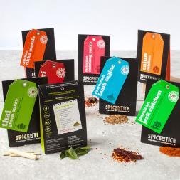 World Recipe Spice Kit Gift Set