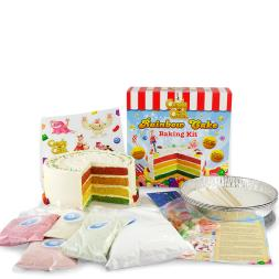 Candy Crush Rainbow Cake Kit