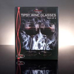 Tipsy Wine Glasses (2 pk)