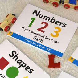 Personalised Numbers Book