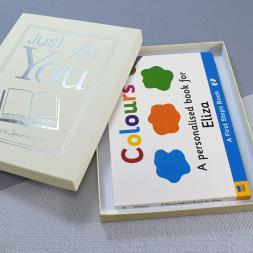 Personalised Colours Book