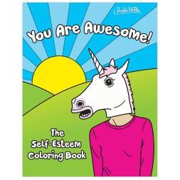 The Self Esteem Colouring Book