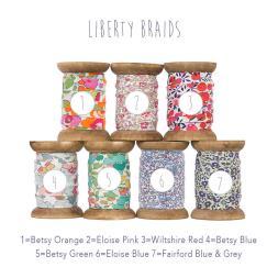 Personalised Liberty Bracelet