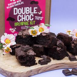 Double Chocolate Brownie Kit