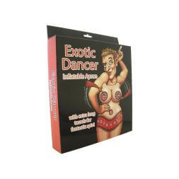 Exotic Dancer Inflatable Apron