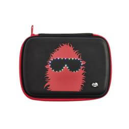 GlowGo Pencil Case - Black/Red