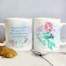 Personalised Mermaid Mug