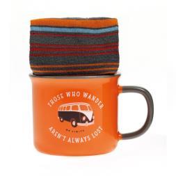 Camper Van Mug And Sock Set