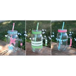 Customisable Mason Jars