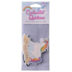 Unicorn Air Freshener - I Don't Believe In Humans