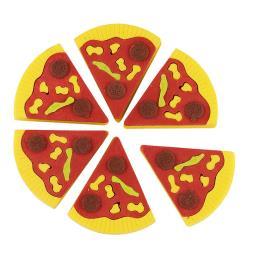 Pizza Eraser Set