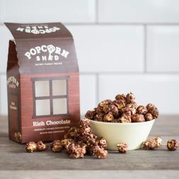 Rich Chocolate Popcorn