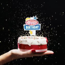 Flashing Cake Topper