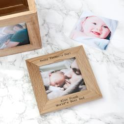 Personalised Photo Frame Keepsake Box