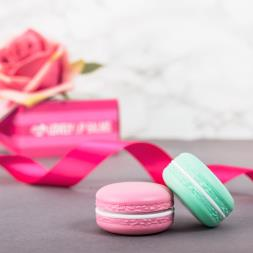 Lovely Macaroon Lip Balm - Set of 2