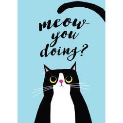 Meow You Doing Tea Towel