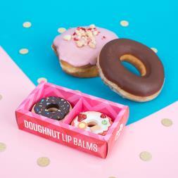 Doughnut Lip Balm - Set of 2