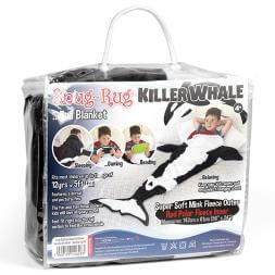 Killer Whale Tail Blanket