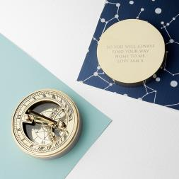 Personalised Pocket Sundial