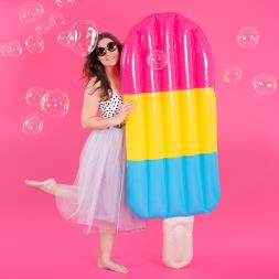Inflatable Ice Lolly Pool Float