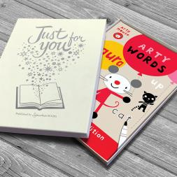 Personalised Arty Mouse Words Book