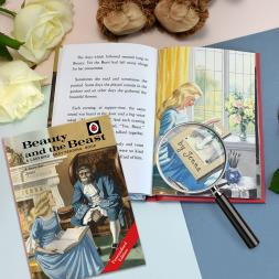 Personalised Ladybird Beauty & The Beast Book