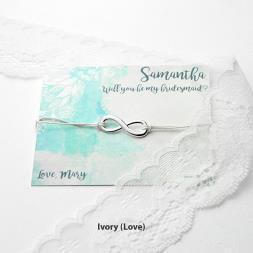 Personalised Infinity Friendship Bracelet