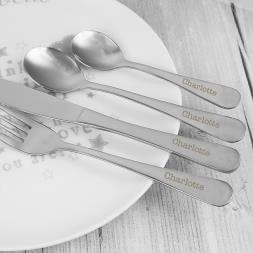 Personalised Cutlery Set