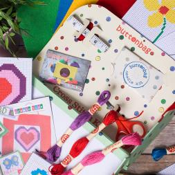 Learn to Cross Stitch Kit